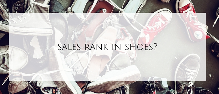 Shoes sales rank