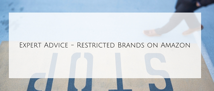 Restricted Brands on Amazon