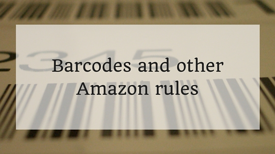 Barcodes and other Amazon rules