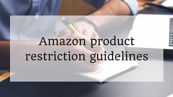 Amazon product restriction guidelines
