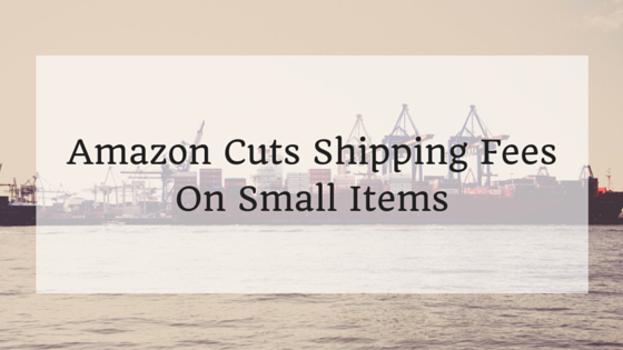 Amazon Cuts Shipping Fees