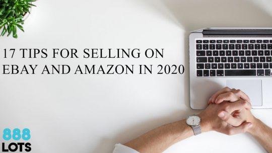 selling on ebay and amazon