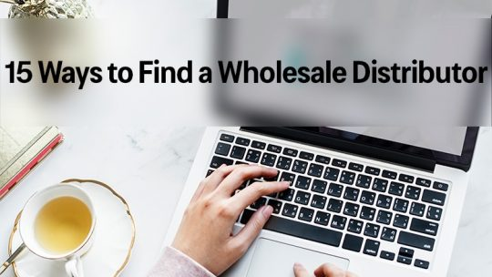 ways to find a wholesale distributor